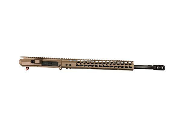 "20"" 6.5 Creedmoor FDE Straight Fluted DPMS AR-10 Upper W/ 16.5 MLOK"