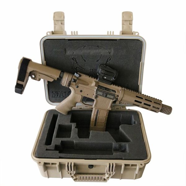 "7.5"" 300 BLACKOUT DESERT STORM TAKEDOWN AR15 PISTOL GEN 2 PACKAGE FDE"