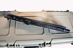 "16"" AR15 MILSPEC 300 BO Complete Upper W / 15"" KEYMOD SKELETON HANDGUARD"