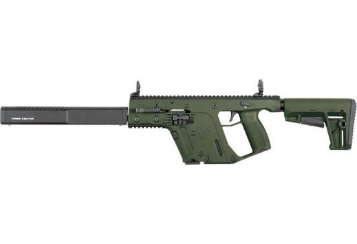 "KRISS VECTOR CRB G2 9MM 16"" 17RD M4 STOCK ODG"
