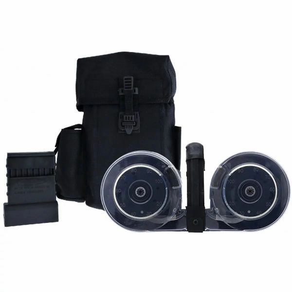100 Round Beta Drum MAG with Pouch and Speed Loader
