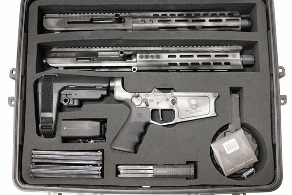 AR10 12 GAUGE Shotgun AND 308 WIN Pistol Package