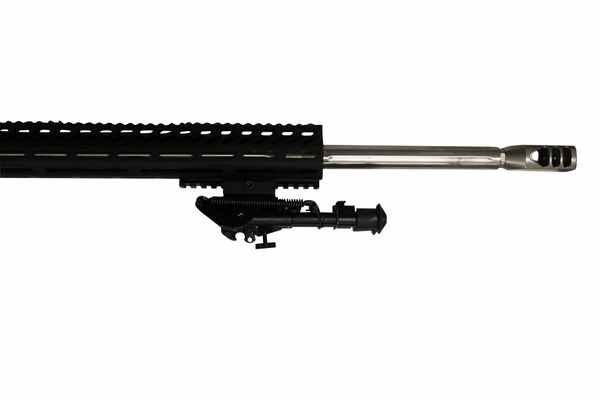 "24"" 6.5 Creedmoor Stainless Steel Straight Fluted Complete Upper W/ 16.5"" MLOK"