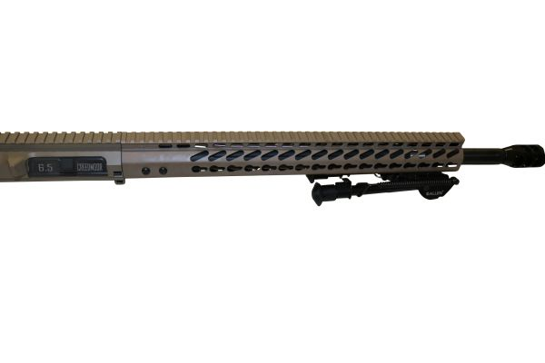 "20"" 6.5 Creedmoor FDE Straight Fluted DPMS AR-10 Upper W/ 15 MLOK"