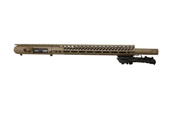 "20"" FDE 308 DPMS Complete Upper with 16.5"" SLIM MLOK Handguard"