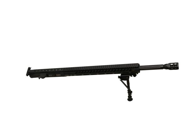 "20"" 6.5 CREEDMOR STRAIGHT FLUTED Complete Upper with 15"" SLIM MLOK Handguard W/ BIPOD"