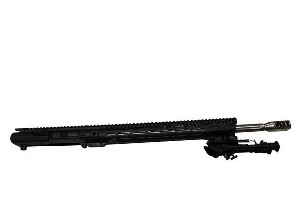 "20"" Stainless Straight Fluted Heavy Barrel 6.5 Creedmoor Complete Upper w/16.5"" Skeleton MLOK Handguard"