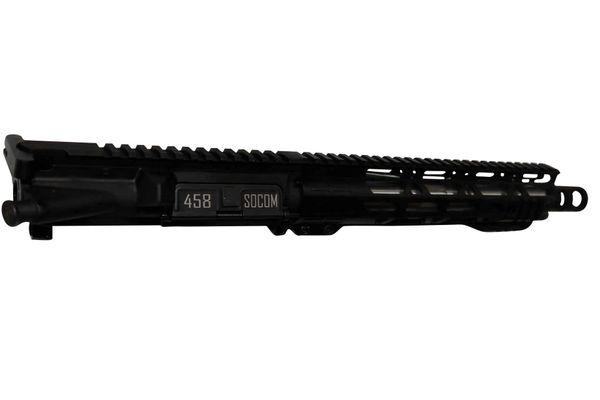 """10.5"""" AR-15 458 SOCOM Stainless Complete Upper"""