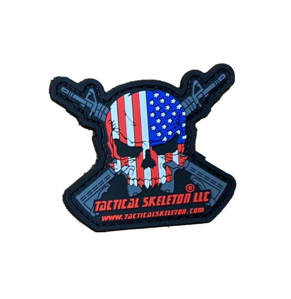 TACTICAL SKELETON PATCH