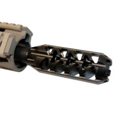 AR-15 5/8''X24 Competition Muzzle Brake TPI Hellfire