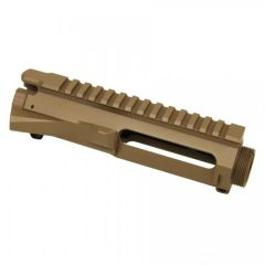 AR15 STRIPPED BILLET UPPER RECEIVER (FLAT DARK EARTH)