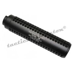"AR-15 5/8""x24 REVERSE THREAD SLIP OVER SOCOM STYLE FAKE SUPPRESSOR"