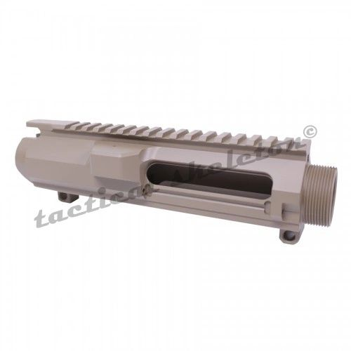 AR .308 CAL STRIPPED BILLET UPPER RECEIVER (FLAT DARK EARTH)