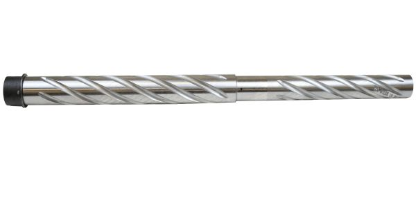 "AR-15 BARREL: 24"" 223 WYLDE HEAVY BARREL, 1:8 TWIST, SPIRAL FLUTES STAINLESS"