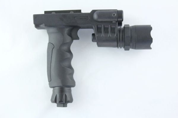 Rifle Vertical Foregrip Grip 500 Lumen Flashlight And