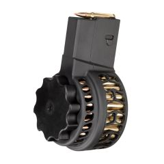 X-25 Skeletonized 50 Round Drum Magazine for AR .308 & SR-25