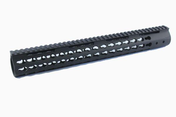 "15"" ULTRA Super Slim Keymod Rail One Piece handguard 223/556/300BLK"