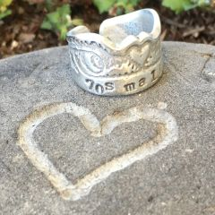 70's Malibu Surfers' Claddagh Ring