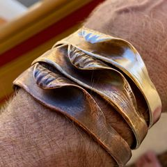 Hollow Days Wave Cuff