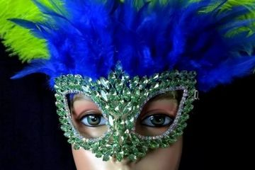 Crystal Face Masks Metal Gold Silver eye masks jeweled rhinestones Swarovski crystals mardi gras carnival venece