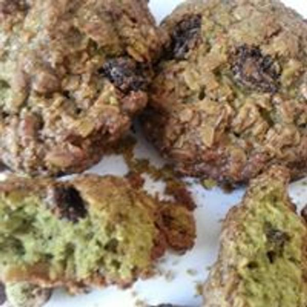Moringa Oatmeal canberry cookies  Great for breakfast/snack natural ingredients. Healthy/delicious