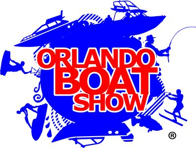 Orlando Boat Show Logo and Link to the website.