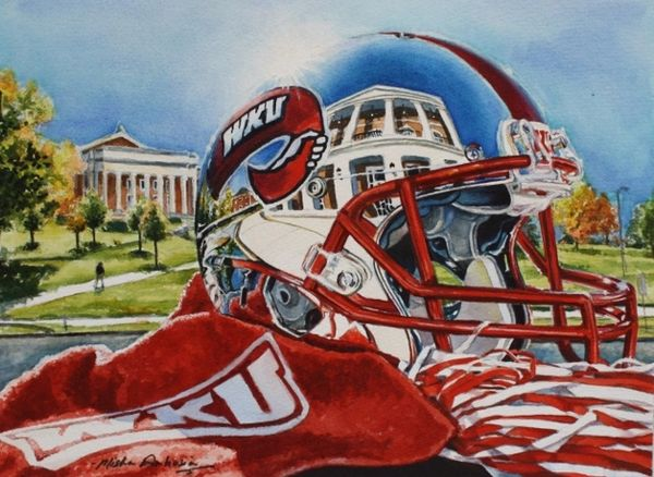 """WKU Reflections of Augenstein Alumni Center"" SOLD"