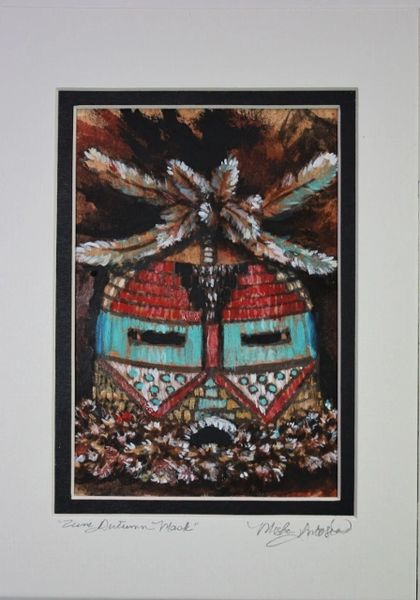 """Zuni Autumn Mask"""