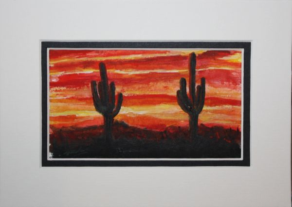 """Saguaro Sunset #2"""