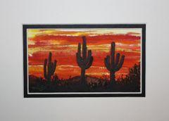 """Saguaro Sunset #1"