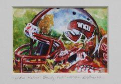 """""""WKU Helmet Study-Fall"""""""