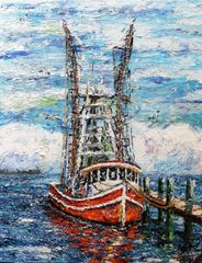 """Louisiana Shrimp Boat"""