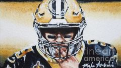 Drew Brees #9, Study No1