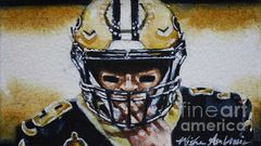 Drew Brees #9, Study No2