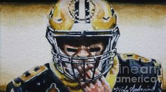Drew Brees #9, Study No3