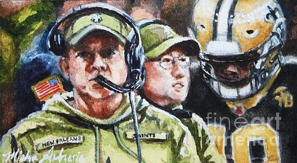 Sean Payton And Pete Carmichael, Study No1