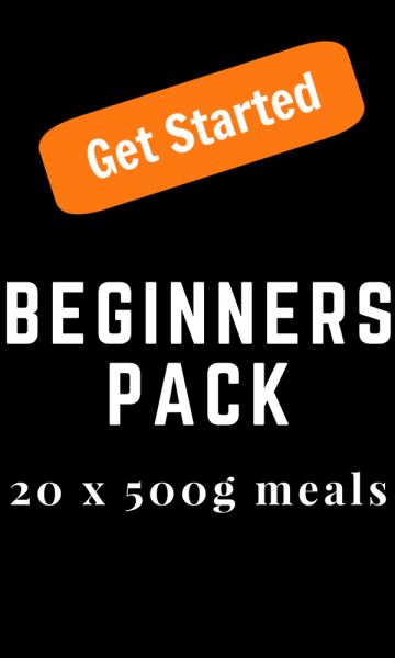 """Beginners Pack"" Signature ORIGINAL 20 x 500g Packs"