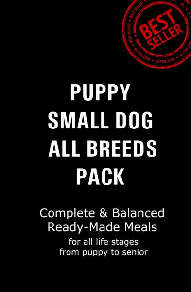 """Puppy & Small Dog Pack"" Signature ORIGINAL $1.65 per serve 12 x 500g Packs"