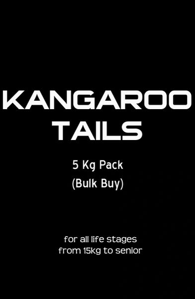 """Kangaroo Meaty Tail Bones"" 5kg Bulk Buy"