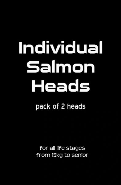 Salmon Heads - 2 Pack