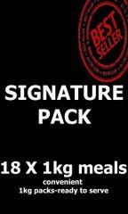 """Signature Pack"" 18 x 1kg Packs"