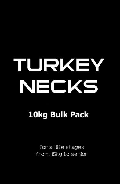 Turkey Necks Bulk Pack 10kg