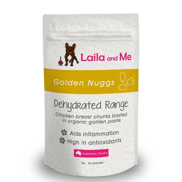 Laila &Me Dehydrated Australian Golden Nuggs 80g