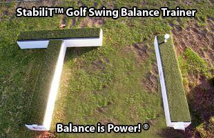 StabiliT™ Golf Swing Balance Trainer