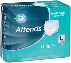 Attends HEAVY Absorbency Large Protective Underwear- 72ct