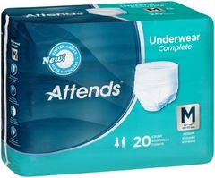 Attends HEAVY Absorbency Medium Protective Underwear- 80ct