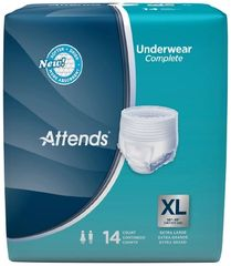Attends HEAVY Absorbency X-Large Protective Underwear - 56ct