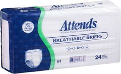 Attends Breathable Briefs HEAVY ABSORBENT(Diapers)-Regular 72ct.