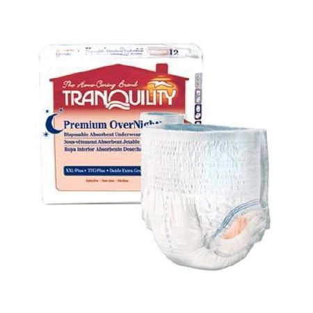 TRANQUILITY PREMIUM OVERNIGHT UNDERWEAR Large 64ct