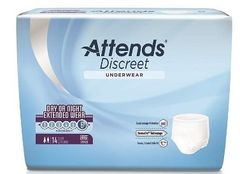 Attends OVERNIGHT Pull On/UNDERWER Heavy Absorbency Large 56/CS